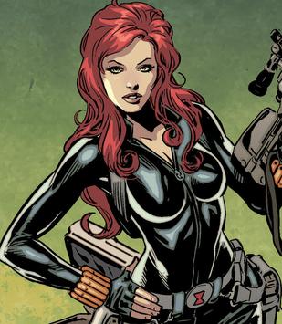 Black Widow Ii Natasha Romanoff Marvel Comic Book