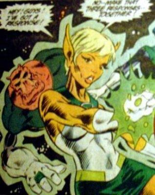 Green Lantern (Arisia Rrab) (Comic Book Character)