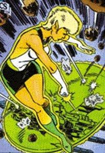 Green lantern comic book character
