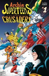 Archie Comics Group's Archie: Superteens versus Crusaders Issue # 1b