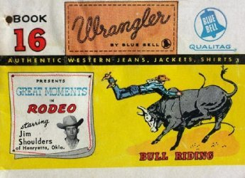 American Comics Group's Wrangler: Great Moments in Rodeo Issue # 16