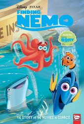 Dark Horse Comics's Disney-Pixar: Finding Nemo and Finding Dory - Story of the Movie in Comics Hard Cover # 1