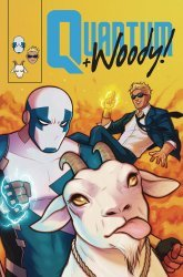 Valiant Entertainment's Quantum & Woody Issue # 8d