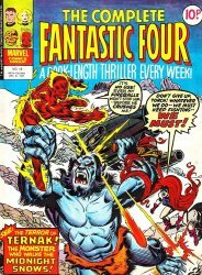 Marvel UK's Complete Fantastic Four Issue # 13