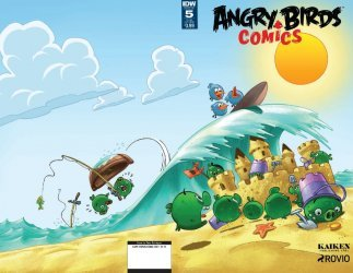 IDW Publishing's Angry Birds Comics Issue # 5sub