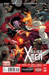 Marvel Comics's All-New X-Men Issue # 24