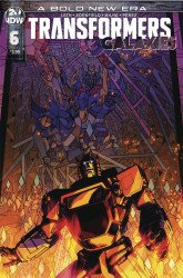 IDW Publishing's Transformers: Galaxies Issue # 6
