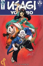IDW Publishing's Usagi Yojimbo Issue # 1cnp-a