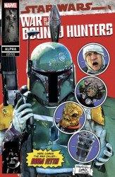 Marvel Comics's Star Wars: War of the Bounty Hunters - Alpha Issue # 1mayhewstudio-a