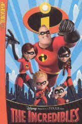 Tokyo Pop/Mixx's The Incredibles Cinemanga Soft Cover # 1