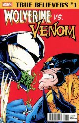Marvel Comics's True Believers: Wolverine vs. Venom Issue # 1