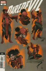 Marvel Comics's Daredevil Issue # 25 - 2nd print b