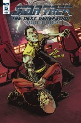 IDW Publishing's Star Trek the Next Generation: Through the Mirror Issue # 5b