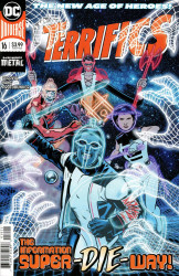 DC Comics's Terrifics Issue # 16