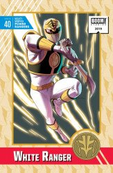 BOOM! Studios's Mighty Morphin Power Rangers Issue # 40d