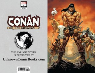 Marvel Comics's Conan the Barbarian Issue # 1unknown