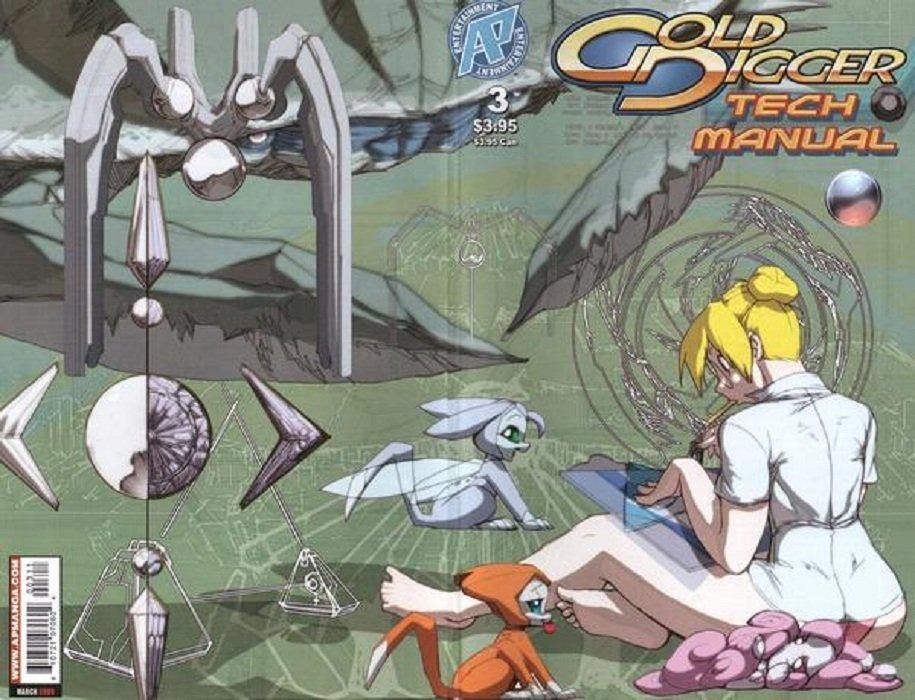 gold digger tech manual 2 antarctic press comicbookrealm com rh comicbookrealm com Board Game Setup Manual Metroid NES Game Manual