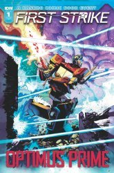 IDW Publishing's Optimus Prime: First Strike Issue # 1ri