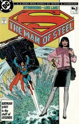DC Comics's The Man of Steel Issue # 2