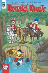 IDW Publishing's Donald Duck Issue # 20ri