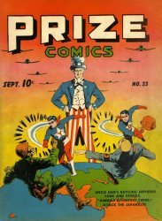 Feature Publications's Prize Comics Issue # 23