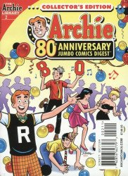 Archie Comics Group's Archie 80th Anniversary Jumbo Comics Digest Issue # 2