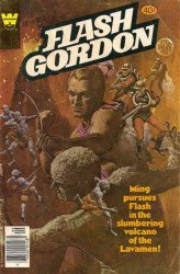 Gold Key's Flash Gordon Issue # 25whitman