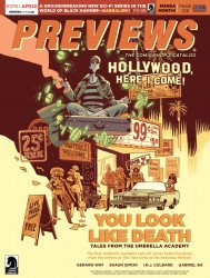 Diamond Comics Distribution's Previews Issue # 379
