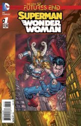 DC Comics's Superman/Wonder Woman: Futures End Issue # 1b