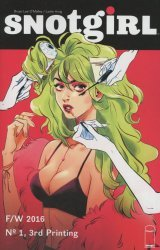 Image's Snotgirl Issue # 1 - 3rd print