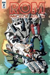 IDW Publishing's ROM and The Micronauts Issue # 2b
