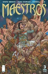 Image Comics's Maestros Issue # 3b