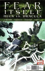 Marvel Comics's Fear Itself: Hulk vs Dracula Issue # 2b