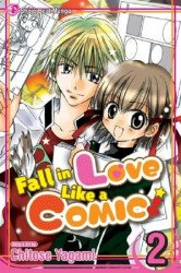 Shojo Beat Manga's Fall in Love Like a Comic Soft Cover # 2