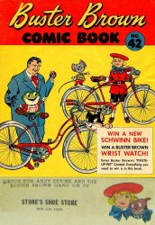 Buster Brown Shoes's Buster Brown Comics Issue # 42stones