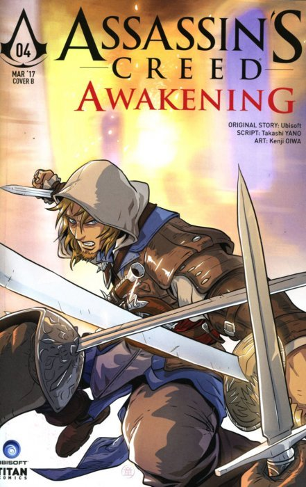 ASSASSINS CREED #4 TITAN COMICS COVER A FEBRUARY 2016 NM 9.4