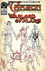American Mythology's Carson of Venus: Warlord of Mars Issue # 1c