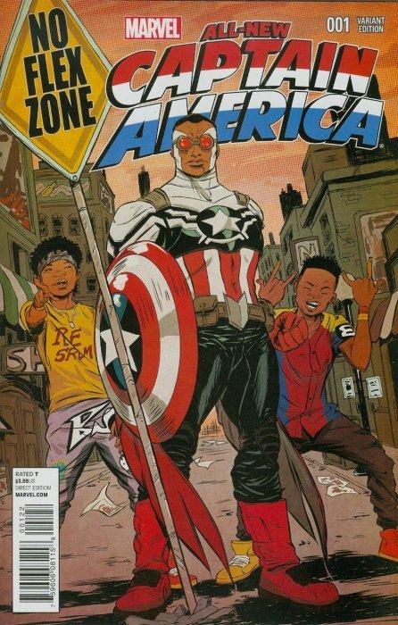 ALL-NEW CAPTAIN AMERICA #1 SAM WILSON 1ST PRINT MARVEL COMICS 2014