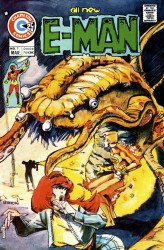 Charlton Comics's E-Man Issue # 7
