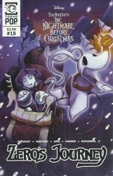 Tokyo Pop/Mixx's Tim Burton's Nightmare Before Christmas: Zero's Journey Issue # 18