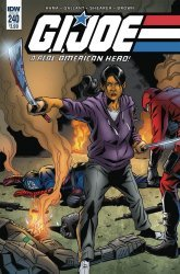 IDW Publishing's G.I. Joe: A Real American Hero Issue # 240