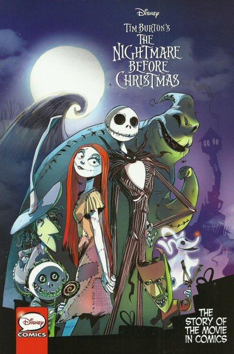 disney tim burtons the nightmare before christmas soft cover 1 joe books - Disney Nightmare Before Christmas