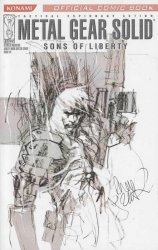IDW Publishing's Metal Gear Solid: Sons of Liberty Issue # 0b