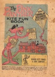 Western Printing Co.'s Pink Panther: Kite Fun Book Issue # 1kcp&l