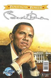 Bluewater Productions's Political Power: Barack Obama Issue # 1b