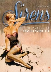 Titan Books's Sirens: Pin-Up Art of David Wright Hard Cover # 1