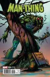 Marvel Comics's Man-Thing Issue # 4b
