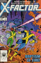 Marvel Comics's X-Factor Issue # 1