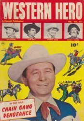 Fawcett Publications's Western Hero Issue # 111