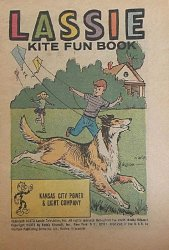 Western Printing Co.'s Lassie: Kite Fun Book Issue # 1kcp&l
